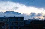 くっきり見えた「浅間山」。(28.9.30)(