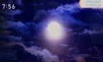 テレビ画像「中秋の名月」(東御市)