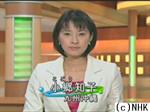 NHK福岡放送局時代の小郷知子アナ